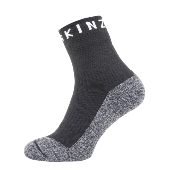 Walking Thin Ankle Sock  - black/grey